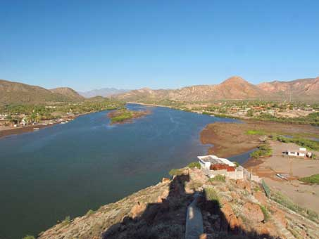 Mouth of Mulege river